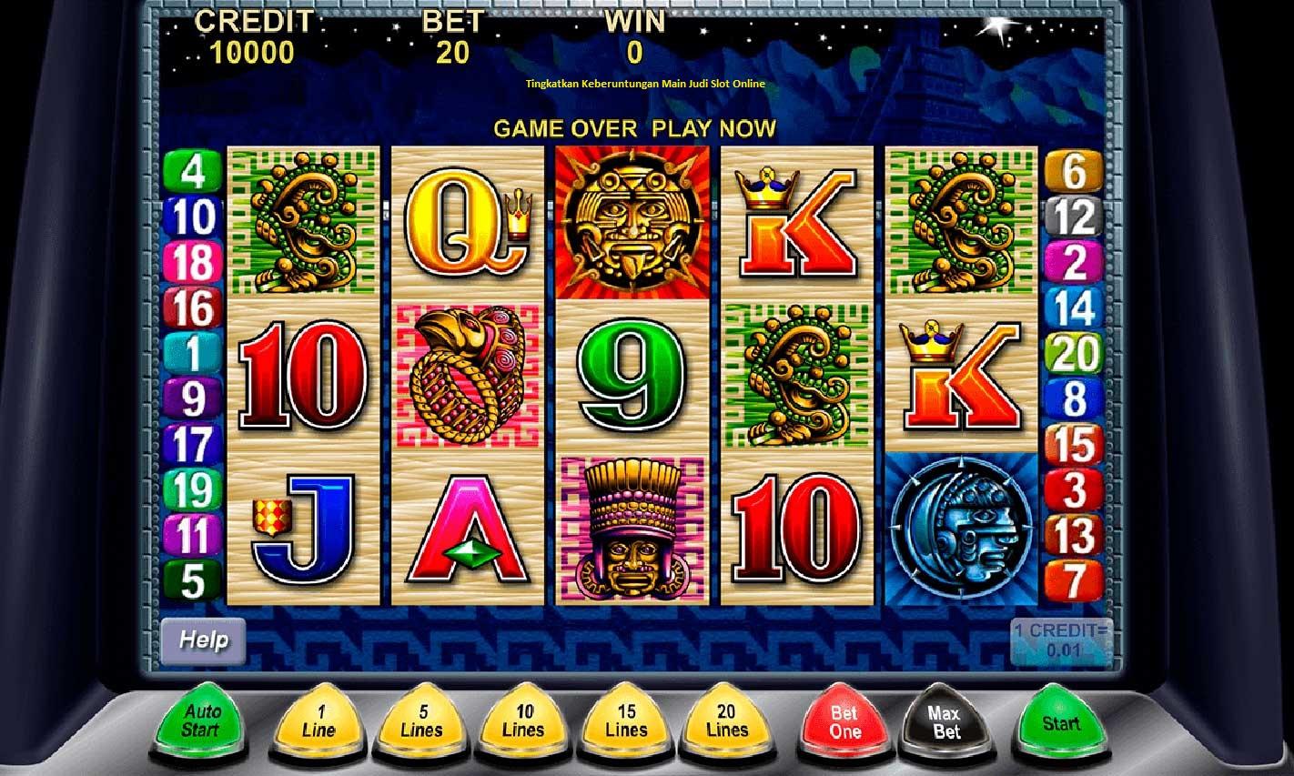 Tingkatkan Keberuntungan Main Judi Slot Online